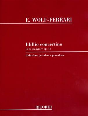 Idillio concertino pour hautbois et piano laflutedepan