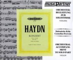 HAYDN - CD Concerto Violon En Sol Majeur - Partition - di-arezzo.fr