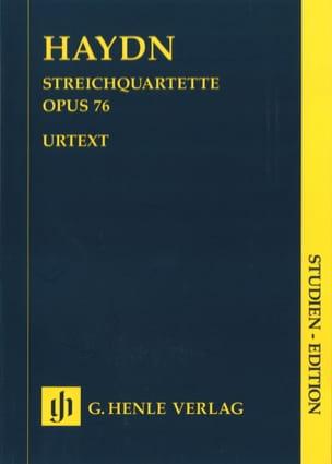 Joseph Haydn - Quatuors à cordes volume X op. 76 (Quatuors Erdödy) - Partition - di-arezzo.fr