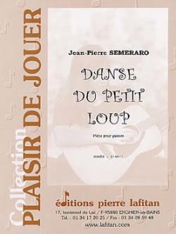 Jean-Pierre Semeraro - Dance of the Little Wolf - Sheet Music - di-arezzo.com