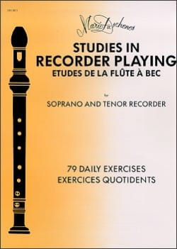 Mario Duschenes - Studies In Recorder Playing - Soprano Recorder - Sheet Music - di-arezzo.com