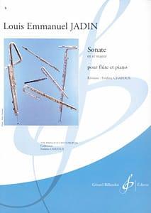 Sonate en ré majeur - Louis-Emmanuel Jadin - laflutedepan.com
