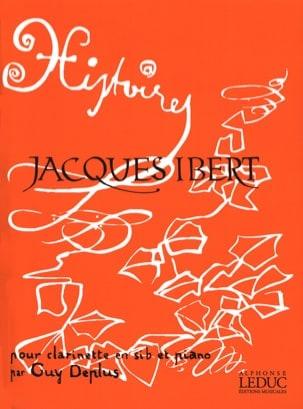 Jacques Ibert - Histoires - Clarinette et Piano - Partition - di-arezzo.fr