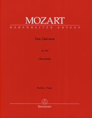 Wolfgang Amadeus Mozart - Don Giovanni, Open House (KV 527) - Partitur - Sheet Music - di-arezzo.co.uk