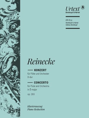 Carl Reinecke - Konzert for Flöte D-Dur op. 283 - Flute and piano - Sheet Music - di-arezzo.co.uk