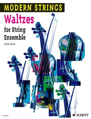 Swing Waltzes for String Ensemble Searle Leslie Partition laflutedepan