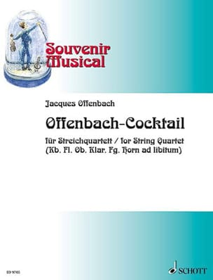 Jacques Offenbach - Offenbach-Cocktail - Partition - di-arezzo.fr