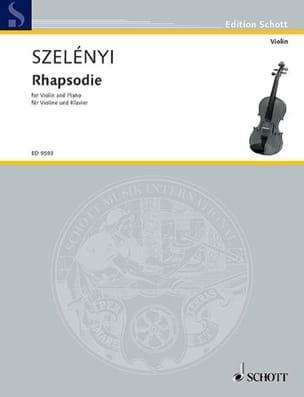 Istvan Szelényi - Rhapsodie - Partition - di-arezzo.fr