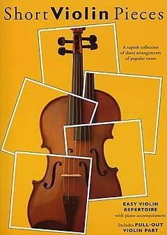 Short Violon Pieces - Hywel Davies - Partition - laflutedepan.com