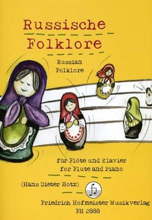 - Russische Folklore - Flöte Klavier - Partition - di-arezzo.fr
