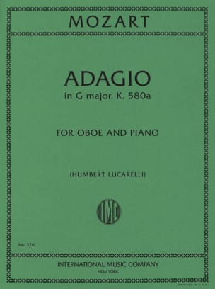 MOZART - Adagio, Kv 580a - Sheet Music - di-arezzo.co.uk