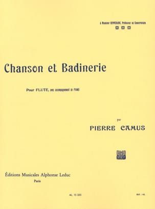 Pierre Camus - Song and Badinerie - Sheet Music - di-arezzo.com