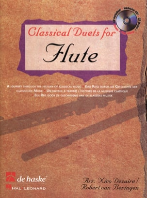 Classical Duets For Flûte - Partition - laflutedepan.com