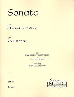 Paul Harvey - Sonata - Partition - di-arezzo.fr