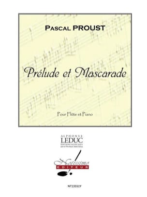 Pascal Proust - Prelude and Masquerade - Sheet Music - di-arezzo.co.uk