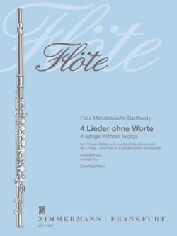 4 Lieder ohne Worte – 4 Flöten - laflutedepan.com