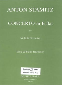 Concerto in B flat STAMITZ Partition Alto - laflutedepan
