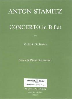 Concerto in B flat - Anton Stamitz - Partition - laflutedepan.com