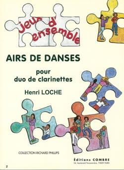 Airs de danse - Henri Loche - Partition - laflutedepan.com