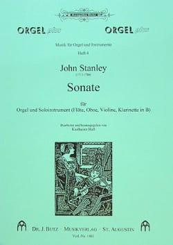 Sonate - Orgel u. Soloinstr. Flöte, Oboe ... John Stanley laflutedepan
