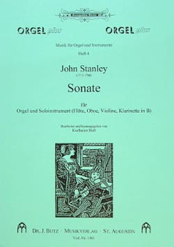 John Stanley - Sonata - Orgel u. Soloinstr. Flöte, Oboe ... - Sheet Music - di-arezzo.co.uk