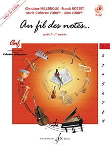Au Fil des Notes - Volume 1 - Elève laflutedepan