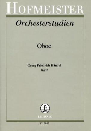 Georg Friedrich Haendel - Orchesterstudien – Heft 2 - Partition - di-arezzo.fr