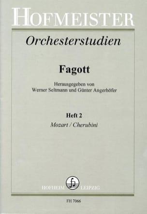 Seltmann Werner / Angerhöfer Günter - Orchesterstudien - Fagott - Heft 2 - Sheet Music - di-arezzo.com