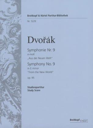 DVORAK - Symphonie N° 9 e-moll, op. 95 - Studienpartitur - Partition - di-arezzo.fr