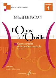 Mikaël LE PADAN - Opus to the Ear - Volume 1 - Sheet Music - di-arezzo.com