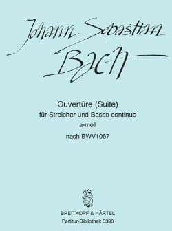 BACH - Opening Suite a-moll nach BWV 1067 - Driver - Sheet Music - di-arezzo.com