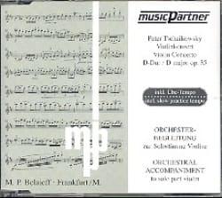 CD - Violinkonzert Op. 35 - TCHAIKOVSKY - Partition - laflutedepan.com