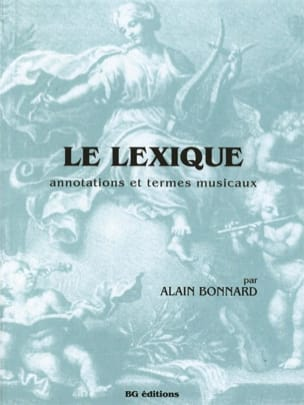 Alain Bonnard - The lexic - Sheet Music - di-arezzo.co.uk