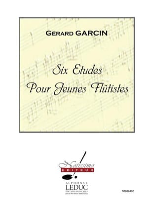 Gérard Garcin - 6 Etudes Pour Jeunes Flûtistes - Partition - di-arezzo.fr