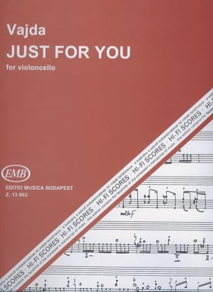 Janos Vajda - Just For You - Partition - di-arezzo.fr