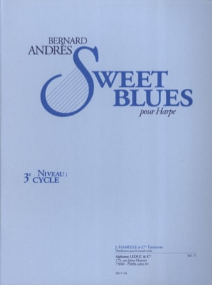 Bernard Andrès - Sweet Blues - Partition - di-arezzo.fr