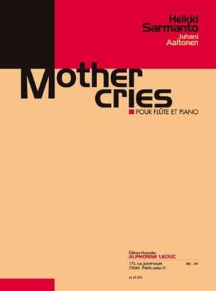 Sarmanto Heikki / Aaltonen Juhani - Mother cries - Partition - di-arezzo.fr
