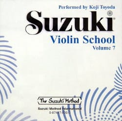 Violin School Vol.7 - CD Seul SUZUKI Partition Violon - laflutedepan