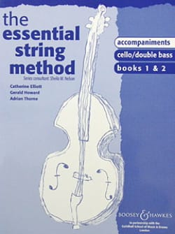 Sheila M. Nelson - Essential String Method - Accompagnement Piano 1&2 - Partition - di-arezzo.fr