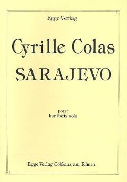 Sarajevo Cyrille Colas Partition Hautbois - laflutedepan