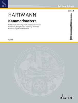 Kammerkonzert - Klarinette Klavier Karl Amadeus Hartmann laflutedepan