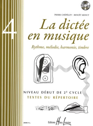 Pierre CHEPELOV et Benoit MENUT - La Dictée en Musique Volume 4 - Sheet Music - di-arezzo.co.uk