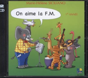 SICILIANO - CD - On Aime la FM Volume 1 - Partition - di-arezzo.fr