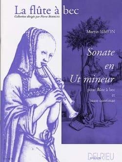Martin Simon - Sonate en ut mineur - Partition - di-arezzo.fr