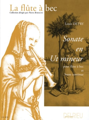 Louis Detry - Sonate en ut mineur - Partition - di-arezzo.fr