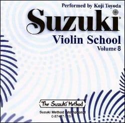 Suzuki - Violin School Vol.8 – CD Seul - Partition - di-arezzo.fr