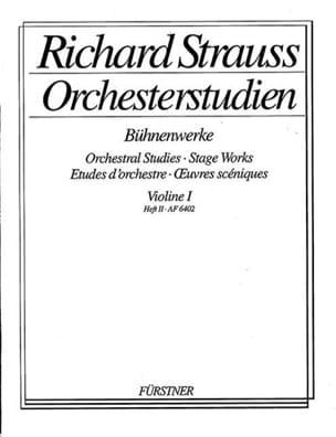Orchesterstudien, Violon 1 Heft 2 Richard Strauss laflutedepan