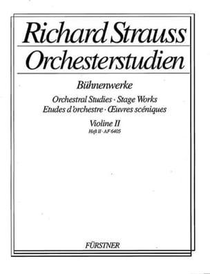 Orchesterstudien Violine 2, Heft 2 Richard Strauss laflutedepan