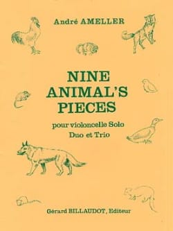 André Ameller - Nine Animal's Pieces - Sheet Music - di-arezzo.co.uk