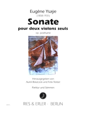 Eugène Ysaÿe - Sonata for 2 violins op. posthumous - Sheet Music - di-arezzo.co.uk